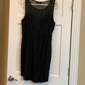 ABS black dress. Size large